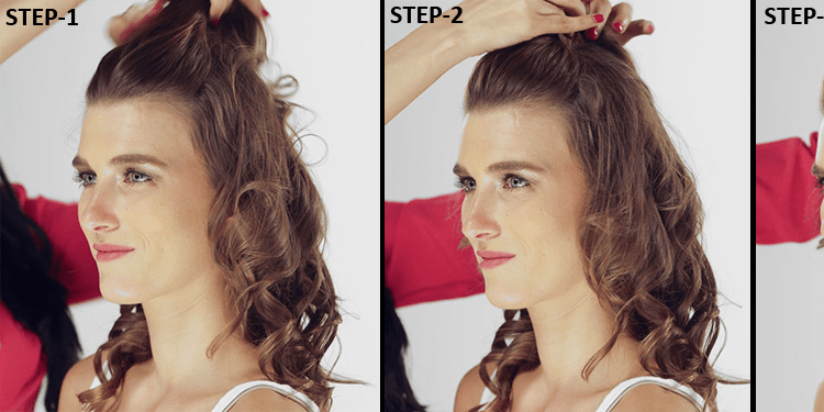 Puff Hairstyle DIY – Step By Step Tutorial 2
