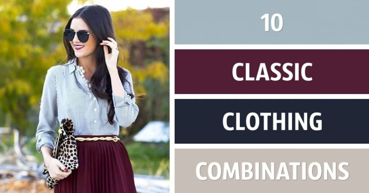10 Perfect Clothing Color Combinations For 2017 8