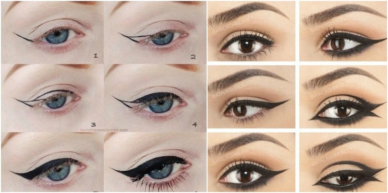 9 Tips and Tricks to Master the Winged Eyeliner Look ...