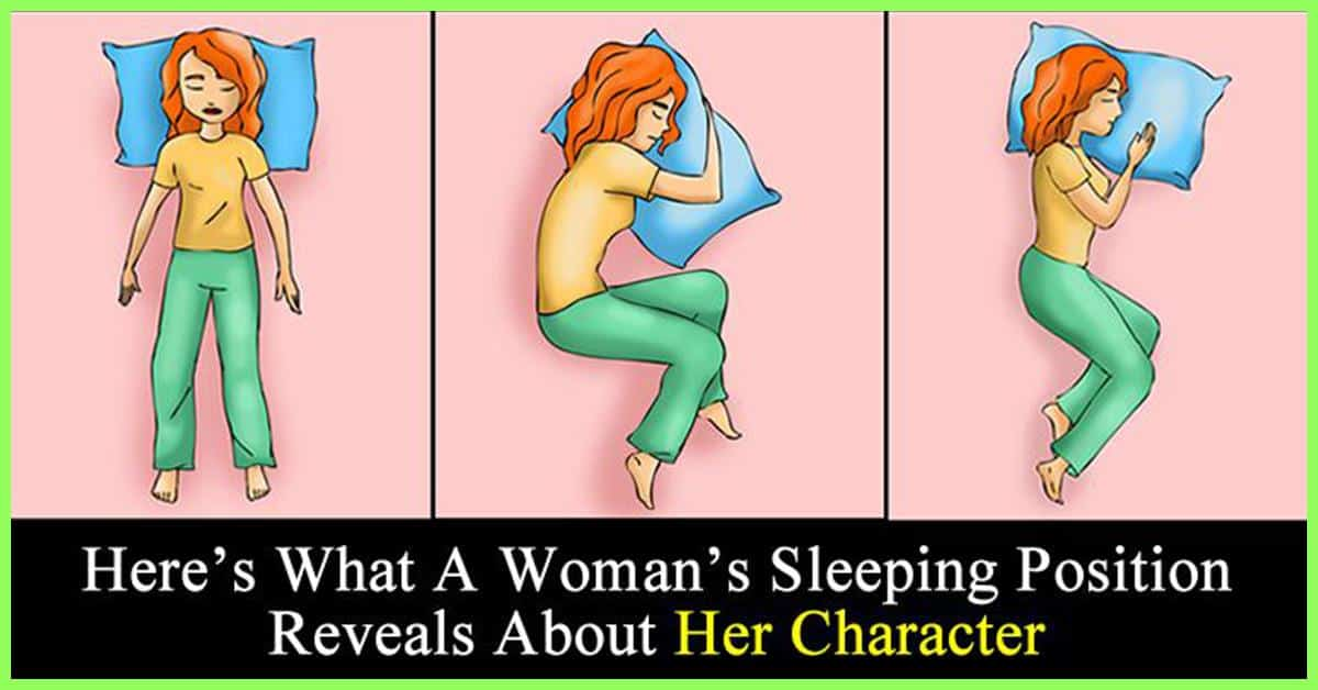 Your sleeping style reveals much about you 5