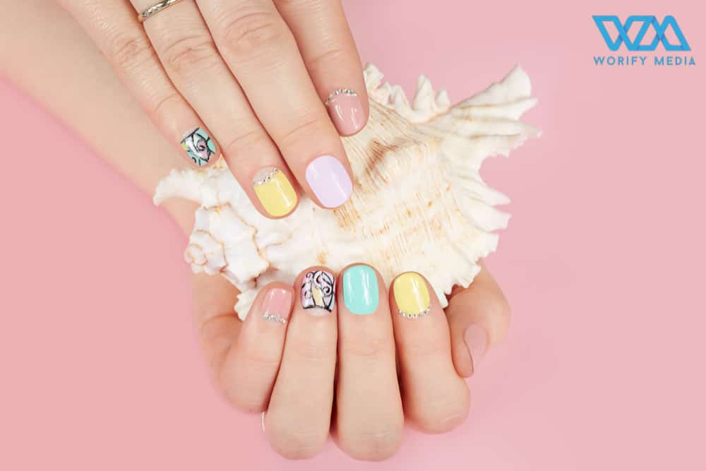 The trendy nail arts never gonna out from fashion 177